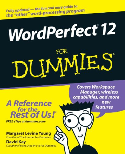 WordPerfect 12 for Dummies 9780764578083
