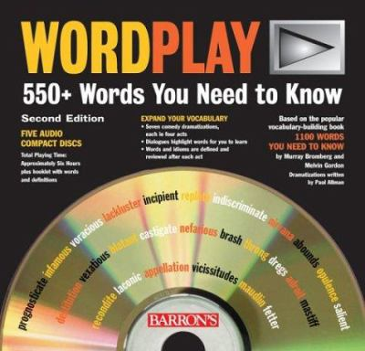 Wordplay: 550+ Words You Need to Know 9780764177507