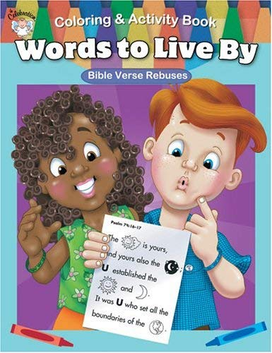Words to Live by Coloring & Activity Book 9780764710278