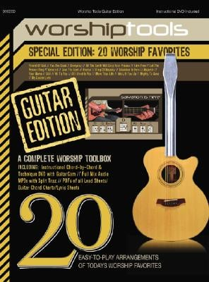 Worship Tools: Guitar: 20 Worship Favorites [With CD and DVD]