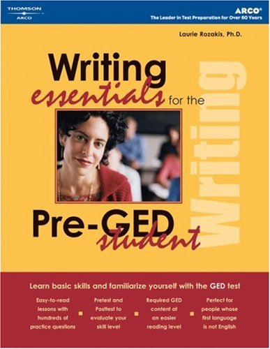 Writing Essentials for Pre-GED Student 9780768912524