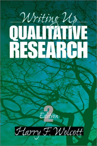 Writing Up Qualitative Research 9780761924296