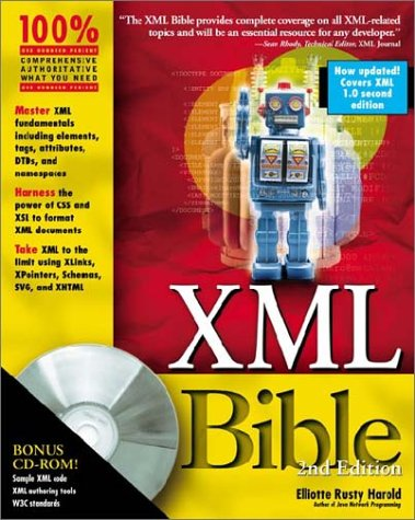 XML Bible [With CDROM] 9780764547607