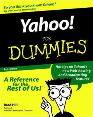 Yahoo! for Dummies Yahoo! for Dummies Yahoo! for Dummies Yahoo! for Dummies