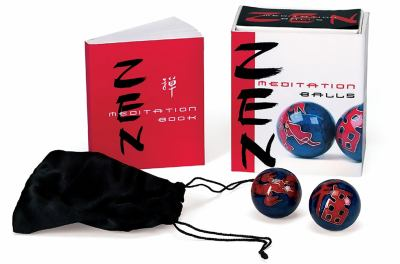 Zen Meditation Balls [With Meditation Chime Balls and Pouch]