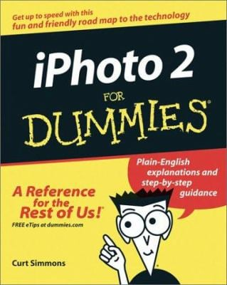 iPhoto 2 for Dummies 9780764539374
