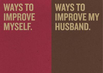 Jotty Journals: Resolutions: Ways to Improve Myself and Ways to Improve My Husband