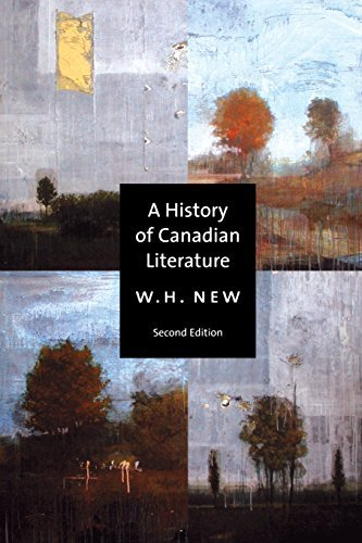 A History of Canadian Literature 9780773525979