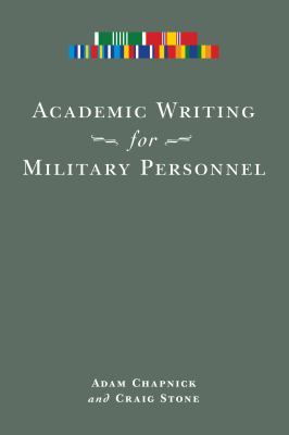 Academic Writing for Military Personnel 9780776607344