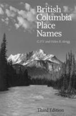 British Columbia Place Names 9780774806374