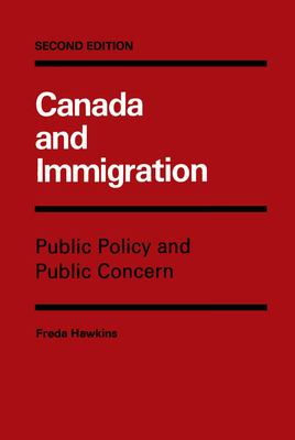 Canada and Immigration 9780773506336