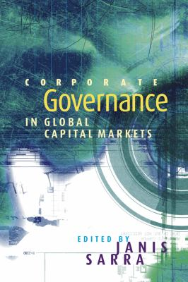 Corporate Governance in Global Capital Markets 9780774810050