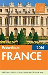 Fodor's France 2014 21063159