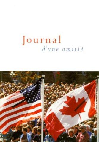 Journal D'Une Amitie 9780771021022