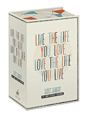 Live the Life You Love Postcard Box: 100 Hand-Lettered Postcards 9780770433017