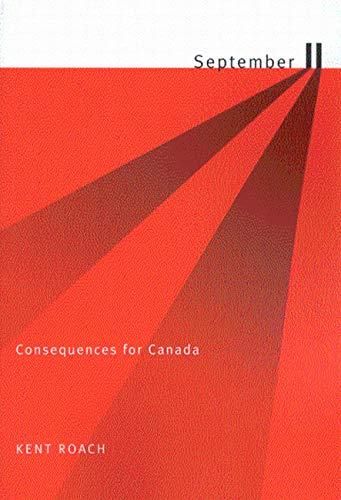 September 11: Consequences for Canada 9780773525856