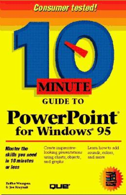 10 Minute Guide to Powerepoint for Windows 95 9780789705495