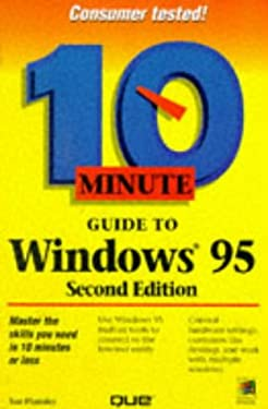 10 Minute Guide to Windows 95 9780789711601