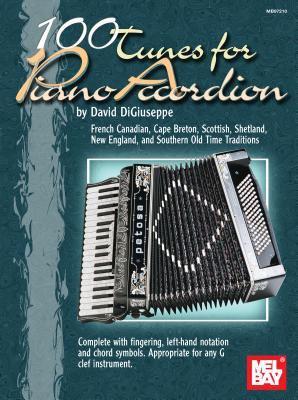 100 Tunes for Piano Accordion 9780786648009