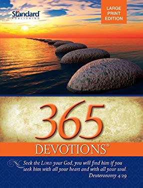 365 Devotions Large Print Edition-2013 9780784735992