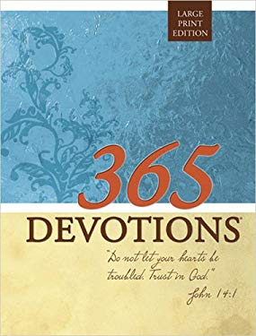 365 Devotions Large Print Edition 9780784722619