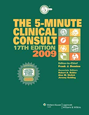 5-Minute Clinical Consult 2009, Premium Package: Text W/ Website and PDA 9780781799034