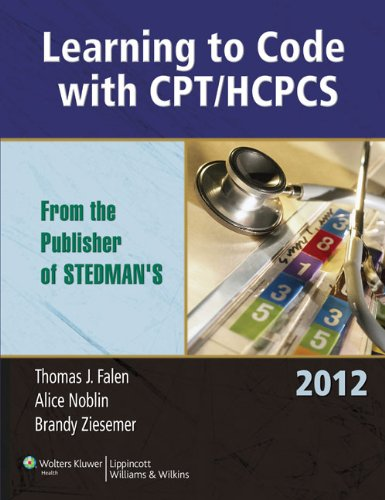 Learning to Code with CPT/HCPCS 2012 9780781781282