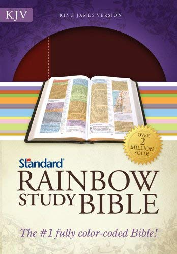 Rainbow Study Bible-KJV 9780784733134