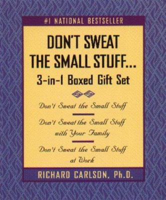 Don't Sweat the Small Stuff 3-In-1 Boxed Gift Set