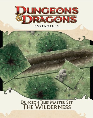 Dungeon Tiles Master Set - The Wilderness: Essential Dungeons & Dragons Tiles 9780786956128