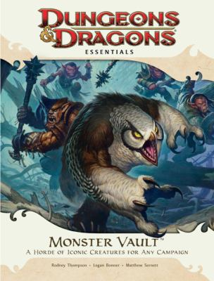 Monster Vault: A Horde of Iconic Creatures for Any Campaign [With Die-Cut Monster Tokens and Fold-Out Battle Map and Booklet] 9780786956319