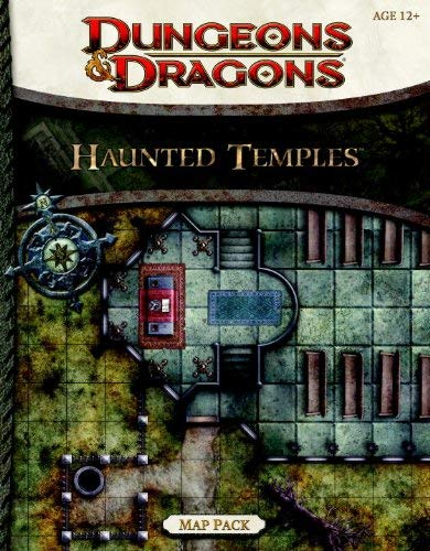 Haunted Temples Map Pack: A 4th Edition Dungeons & Dragons Accessory 9780786959877