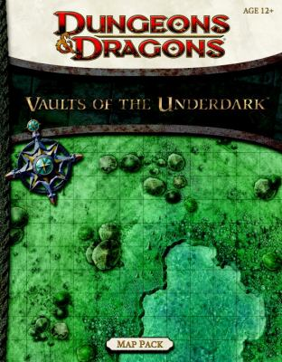 Vaults of the Underdark Map Pack [With 3 Battle Maps]