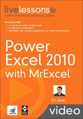 Power Excel 2010 with MrExcel 9780789743930