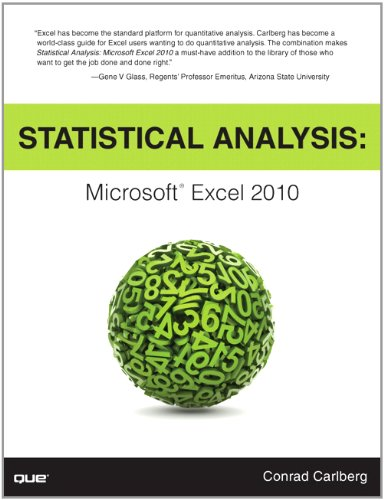 Statistical Analysis: Microsoft Excel 2010 9780789747204