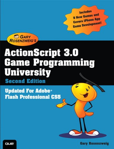 ActionScript 3.0 Game Programming University 9780789747327