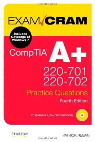 Comptia A+ 220-701 and 220-702 Practice Questions Exam Cram 9780789747914