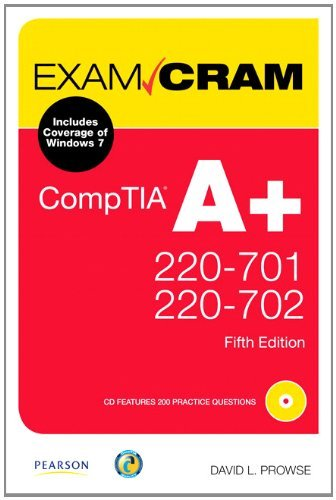 CompTIA A+ 220-701 and 220-702 [With CDROM] 9780789747921