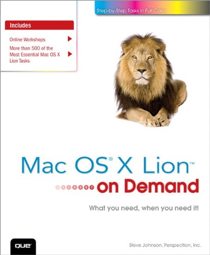 Mac OS X Lion on Demand 9780789748195