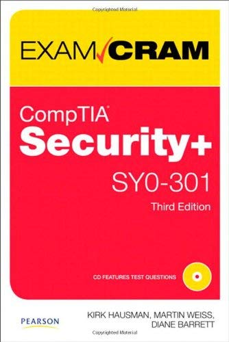 Comptia Security+ Sy0-301 Authorized Exam Cram 9780789748294