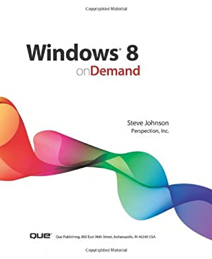 Windows 8 on Demand 9780789749994