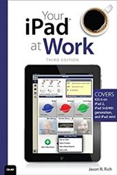 Your iPad at Work, 3/e, can help any businessperson harness the newest iPad's immense power to become more productive and effective - quickly, easily, and without technical hassle. Organized into quick, simple, step-by-step instructions focused on business-specific iPad skills and tools, it's packed with instant solutions for managers, entrepreneurs, consultants, and freelancers alike. Jason Rich begins by helping business users and company decision-makers choose the right iPad to purchase, and then configure it to their business requirements. He walks through setting up email accounts, syncing calendars and schedules, connecting to corporate networks, and more. Next, he turns to the growing array of high-value, low-cost iPad business apps,
