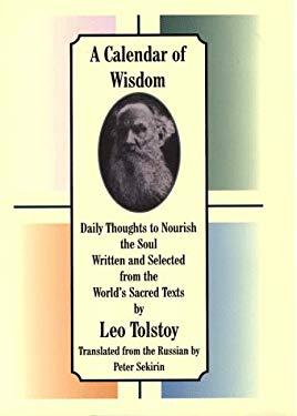 A Calendar of Wisdom 9780783883656