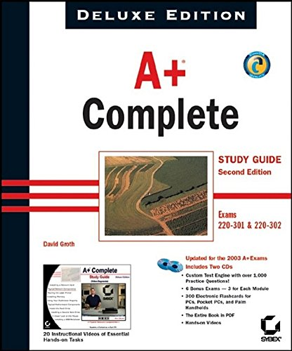 A+ Complete Study Guide: Exams 220-301 & 220-302 9780782142440