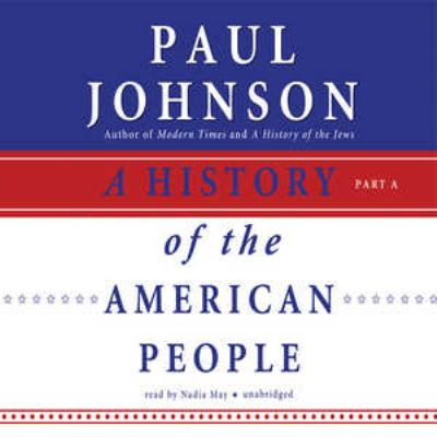 A History of the American People 9780786189526