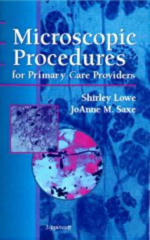 A Microscopic Procedures for Primary Care Providers 9780781714327