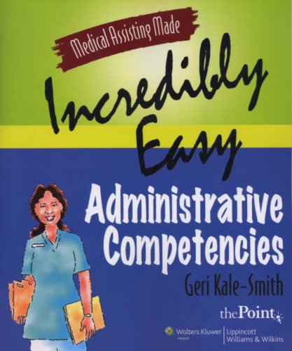 Administrative Competencies 9780781778107