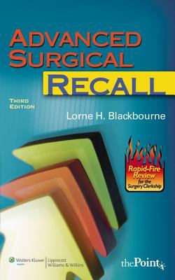 Advanced Surgical Recall 9780781770682
