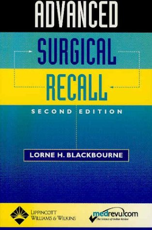 Advanced Surgical Recall 9780781735377