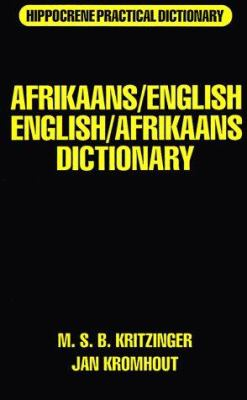 Afrikaans/English, English/Afrikaans Dictionary 9780781800525